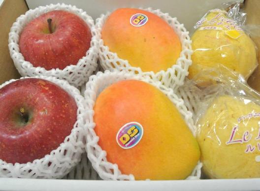 旬な果物の詰め合わせ一例(6)