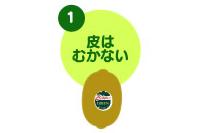 キウイフルーツの切り方1