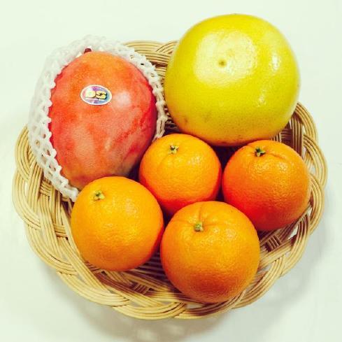 マチルバマンゴー、メロゴールド、ネーブルオレンジ