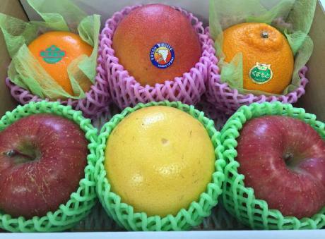 旬な果物の詰め合わせ一例(2)