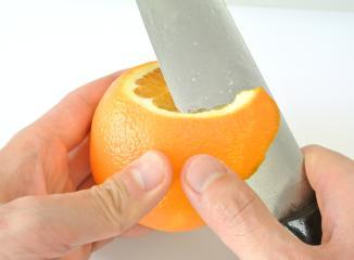 オレンジ切り方 2