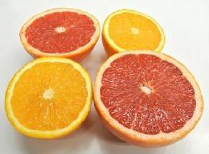 グレープフルーツ、オレンジ ディスプレイ1