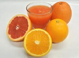 グレープフルーツ、オレンジ ディスプレイ2