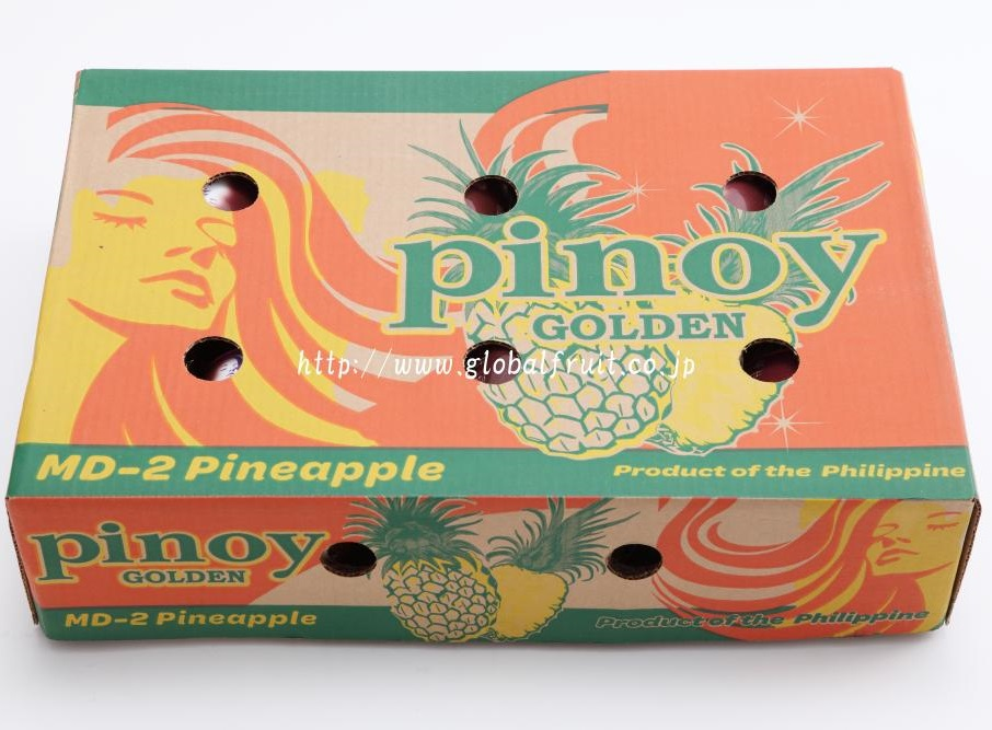 パイナップル6個入り箱