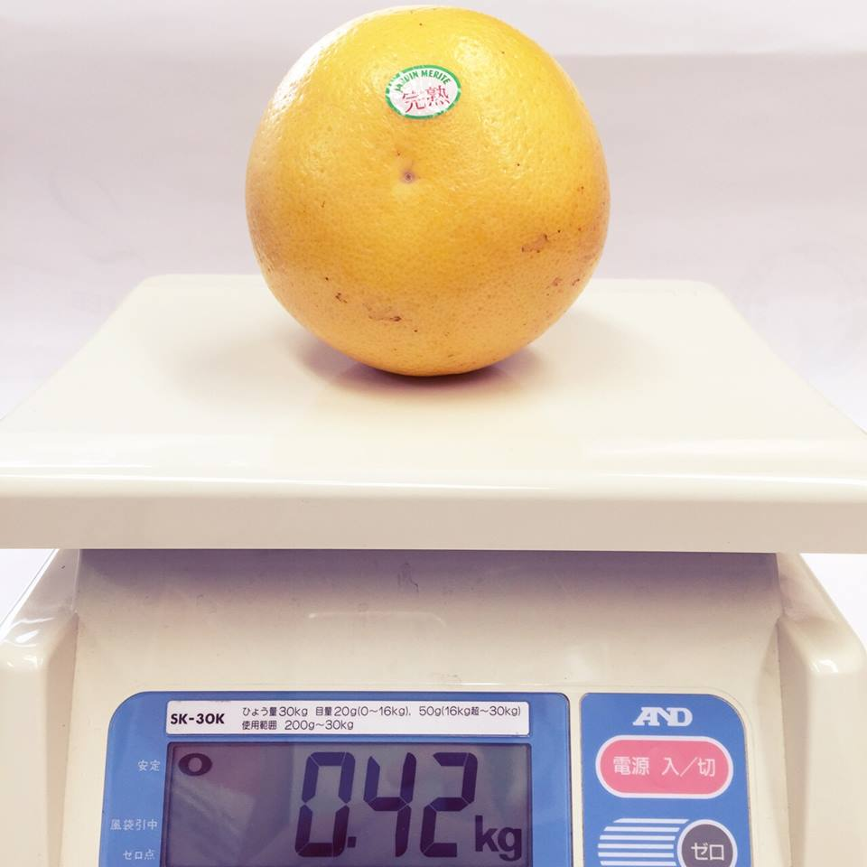 弊社グレープフルーツ重量
