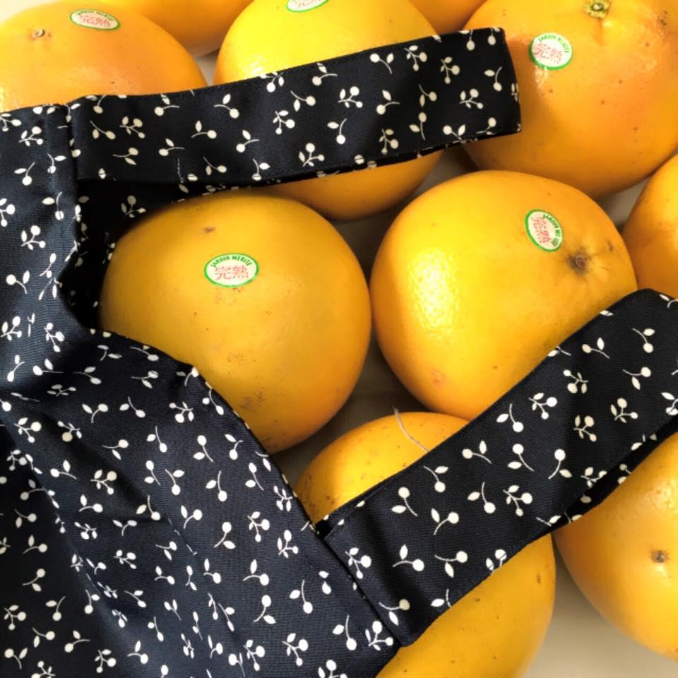 グレープフルーツとエプロン