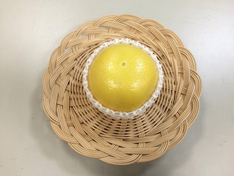 メロゴールドに白色のフルーツキャップ