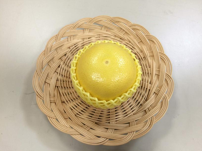 メロゴールドに黄色のフルーツキャップ