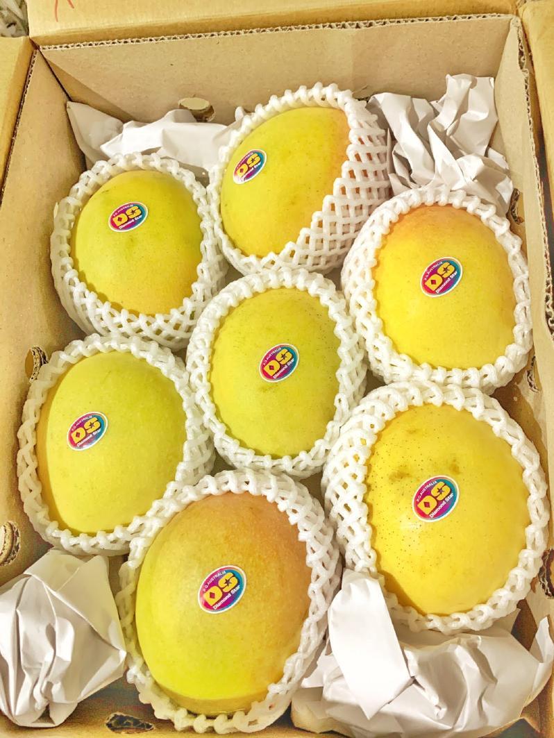 ピーチマンゴー7玉サイズ